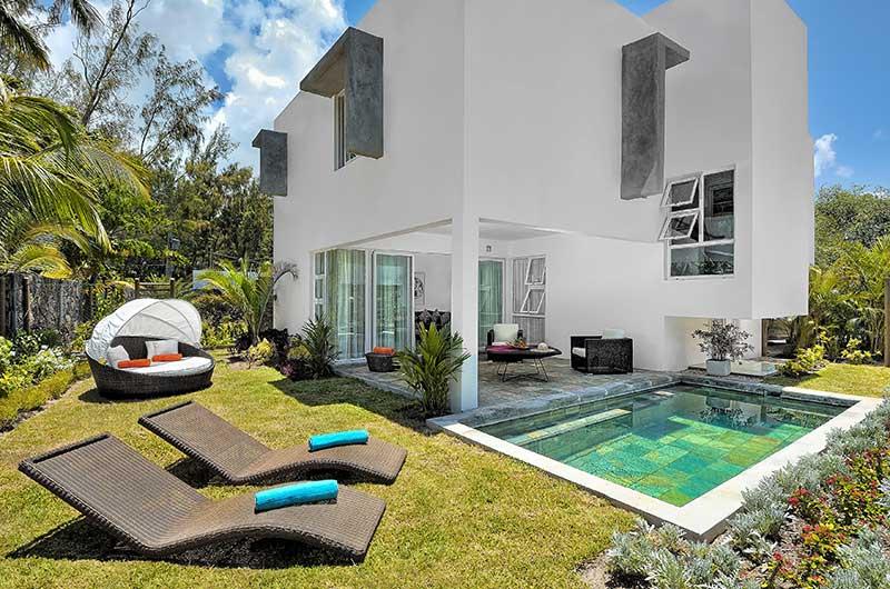 Location villa ile maurice for Campement a louer a grand baie avec piscine