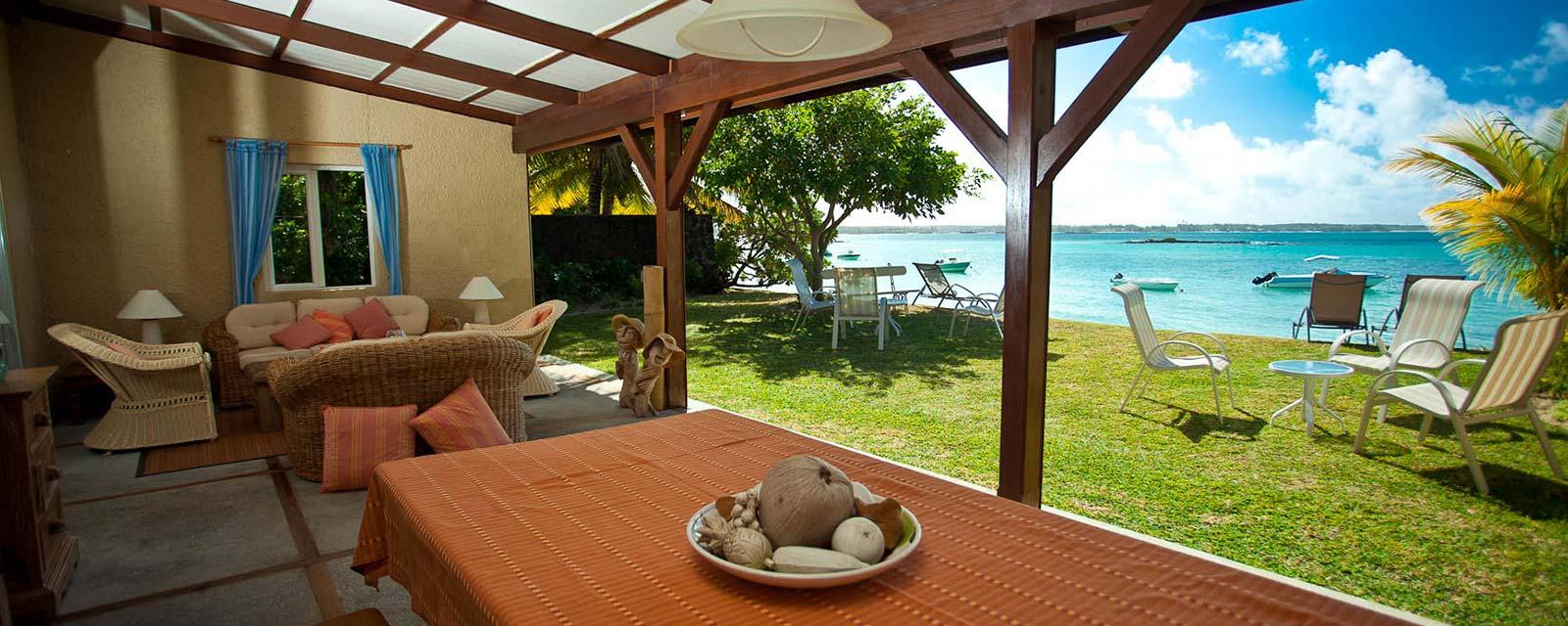 Fen tre sur lagon villa ile maurice for Fenetre villa