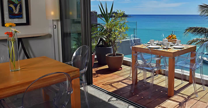 Korossol dining terrasse